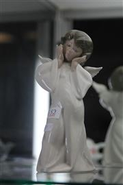 Sale 7998 - Lot 52 - Lladro Mime Angel by Salvador Dobon