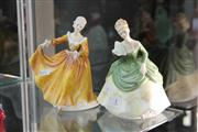 Sale 8360 - Lot 1 - Royal Doulton Soiree Together with a Kirsty Figure