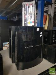 Sale 8548 - Lot 2224 - Play Station 2 x 3 and Games