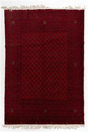 Sale 8800C - Lot 62 - An Afghan Mori Gul Finely Woven And Hand Knotted Tribal Wool Rug, 193 x 282cm