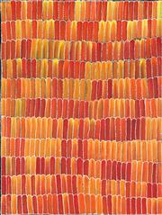 Sale 8875A - Lot 5041 - Jeannie Mills Pwerle (c1965 - ) - Yams 122 x 91.5 cm (stretched and ready to hang)