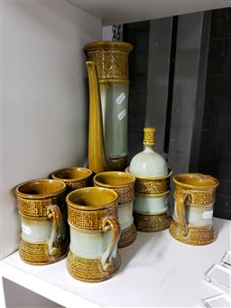 Sale 9101 - Lot 2288 - Studio Pottery Coffee Service