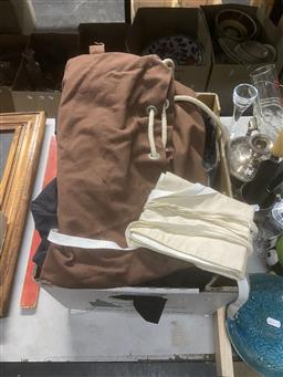 Sale 9101 - Lot 2397 - A Collection Of Australian Naval Uniforms Incl Coats, Jumpers Together With Rucksack