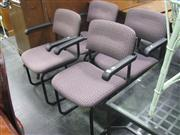 Sale 7944A - Lot 1064 - Set of 4 Reception Chairs