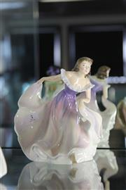 Sale 8189 - Lot 3 - Royal Doulton Figure The Gypsy Dance