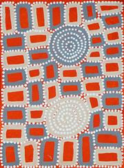 Sale 8437A - Lot 5047 - Walala Tjapaltjarri (1960 - ) - Tingari 40.5 x 30cm (stretched & ready to hang)