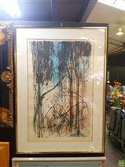 Sale 8631 - Lot 2049 - Jamie Boyd - Bushscape lithograph ed. AP, 68.5 x 46.5cm, signed lower right