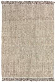 Sale 8651C - Lot 71 - Colorscope Collection; Flatweave Wool and Cotton - Brown Beige Rug, Origin: India, Size: 160 x 230cm, RRP: $499