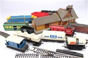 Sale 8701 - Lot 340 - Model Trains, Tracks And House