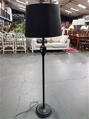 Sale 8782 - Lot 1754 - Black Metal Standard Lamp
