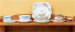 Sale 9120H - Lot 180 - A shelf lot of ceramics including Limoges, Doulton, Burslem and others