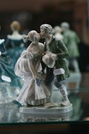 Sale 7876 - Lot 15 - Royal Copenhagen Figure Group of Lovers
