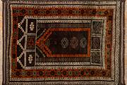 Sale 8256B - Lot 50 - Antique Persian Prayer Rug 110cm x 80cm RRP $600