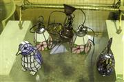 Sale 8499 - Lot 1034 - Collection of Small Lamps