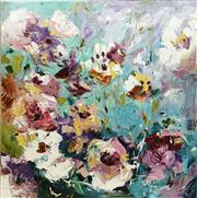 Sale 8722A - Lot 5032 - Cheryl Cusick - Secret Garden 101.5 x 101.5cm
