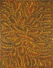 Sale 8875A - Lot 5063 - Rosemary Pitjara (c1965 - ) - Untitled 120 x 90 cm (stretched and ready to hang)