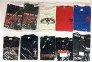 Sale 8926M - Lot 25 - Band T-Shirts incl. Kiss, Mötley Crüe & Iron Maiden (10)