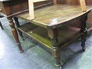Sale 7933A - Lot 1140 - Tiered Coffee Table on Castors