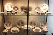 Sale 8047 - Lot 30 - Royal Worcester Evesham Dinner Wares incl; Oval game casserole,3 carious lidded tureens, gravy boat w under dish, souffles and ser...