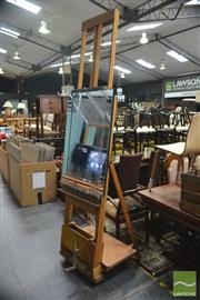 Sale 8440 - Lot 1012 - Timber Artists Easel