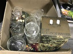Sale 9101 - Lot 2400 - Collection of Glassware incl. Dishes, Vases, etc.