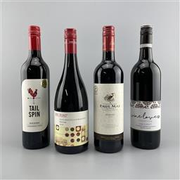 Sale 9257W - Lot 928 - 4x Assorted Red Wines