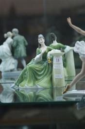 Sale 7876 - Lot 14 - Royal Doulton Figure Secret Thoughts