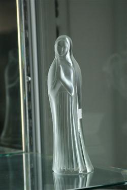 Sale 7914 - Lot 14 - Lalique Figure of Mary (Chip to Base)