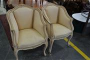 Sale 8115 - Lot 1243 - Pair of French Style Chairs on Cabriole Legs