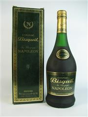 Sale 8340A - Lot 971 - 1x Bisquit Napoleon Cognac - old bottling, 40% ABV, 700ml in box