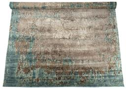 Sale 9140W - Lot 14 - A Designer Rugs Portia hand knotted carpet in silk, wool and cotton. 450cm x 320cm RRP $8,208