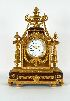 Sale 3691 - Lot 14 - A FINE FRENCH GILT ORMOLU MANTLE CLOCK late 19th century