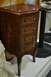 Sale 8031 - Lot 1090 - Small Timber Chest of 4 Drawers