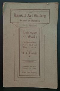 Sale 8176A - Lot 92 - Randall Art Gallery and School of Painting South Brisbane. Catalogue of Works. Black and white illustrations. Slight damage to pages...