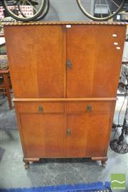 Sale 8323 - Lot 1091 - Fitted Drinks Cabinet