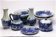Sale 9060 - Lot 79 - A Collection Of English Blue And White Ceramics