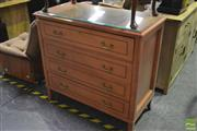 Sale 8361 - Lot 1063 - Chest w Bureau Top