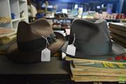 Sale 8530 - Lot 2197 - Akubra Hat size 57 & Stetson Hat size 56 (2)