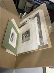 Sale 8981 - Lot 2081 - 10 Watercolours & 8 Engraving incl Post Office at Windsor; Hobarttown; Glenelg & Adelaide Harbour; Napoleon at Espagne; Charles I; H...