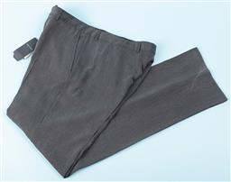Sale 9091F - Lot 230 - A PAIR OF GIORGIO ARMANI pants in brown with tags, size 54