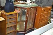 Sale 7987A - Lot 1209 - Bow Front Display Cabinet