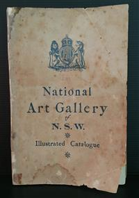 Sale 8176A - Lot 94 - Catalogue of National Art Gallery of New South Wales with Illustrations 1893. Includes Supplement to Catalogue (10 pages). Back cove...
