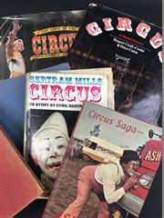 Sale 8539M - Lot 227 - 6 Vols., all circus related
