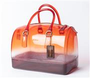 Sale 8891F - Lot 9 - A Furla clear plastic handbag