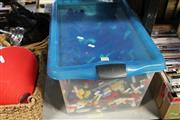 Sale 8217 - Lot 2128 - Box of Lego Pieces