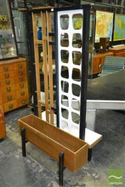 Sale 8235 - Lot 1053 - Apollo Vintage Room Divider with Planter Boxes
