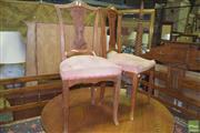 Sale 8359 - Lot 1724 - Pair of Parlour Chairs