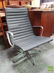 Sale 8493 - Lot 1090 - A Herman Miller Aluminium Group Chair