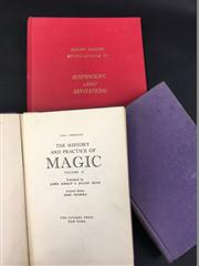 Sale 8539M - Lot 228 - 3 Vols., The History and Practice of Magic by Paul Christian (vols. 1 & 2), Micky Hades Encyclopedia of Suspensions and Levitati...