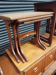 Sale 8723 - Lot 1042 - G Plan Teak Nest of Tables